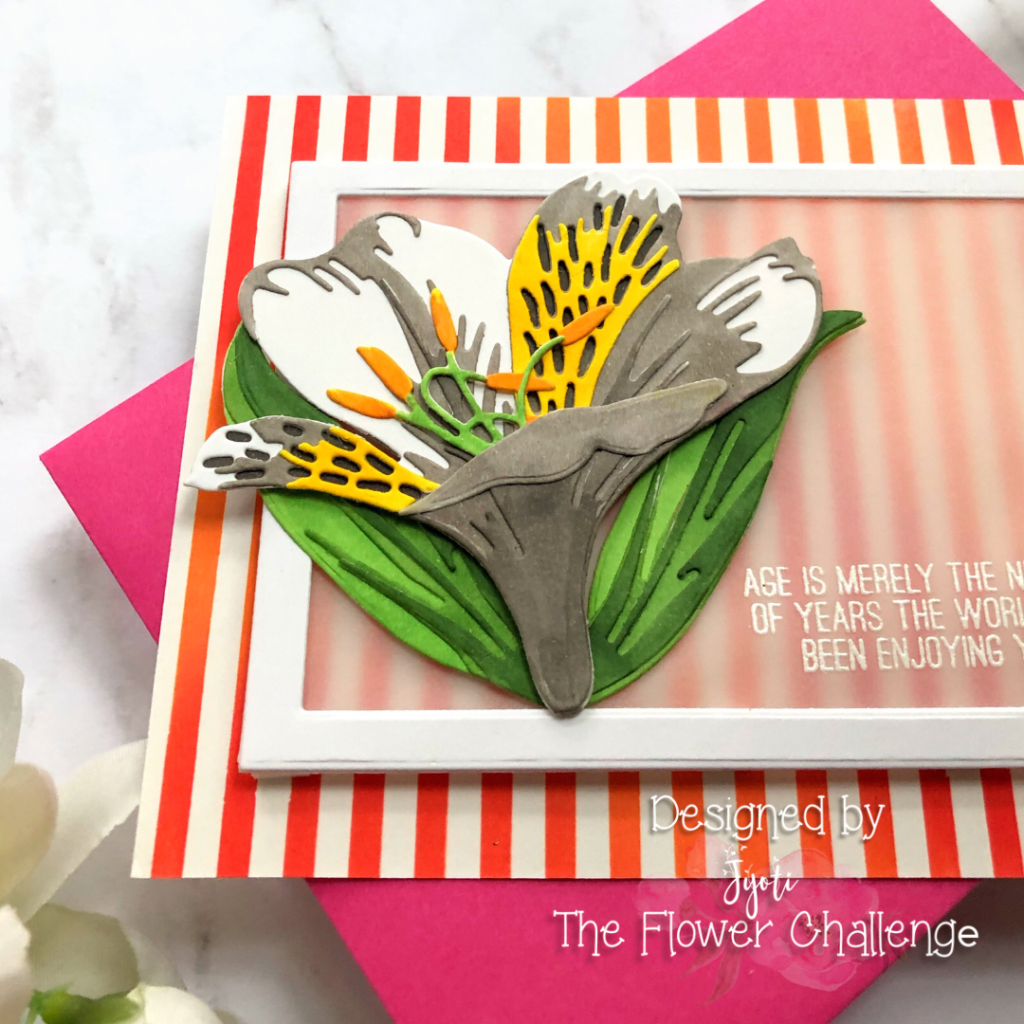 The flower challenge #58